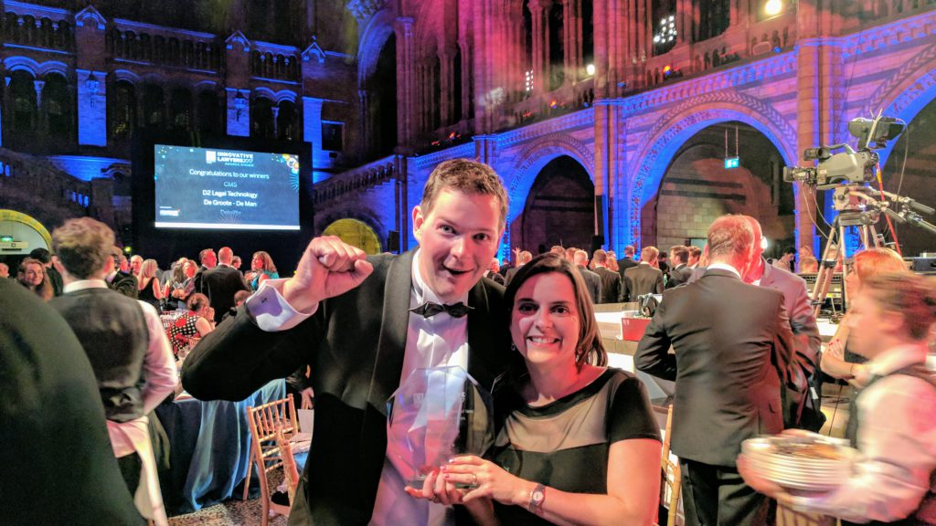 De Groote - De Man wint Financial Times Most Innovative Lawyers Award