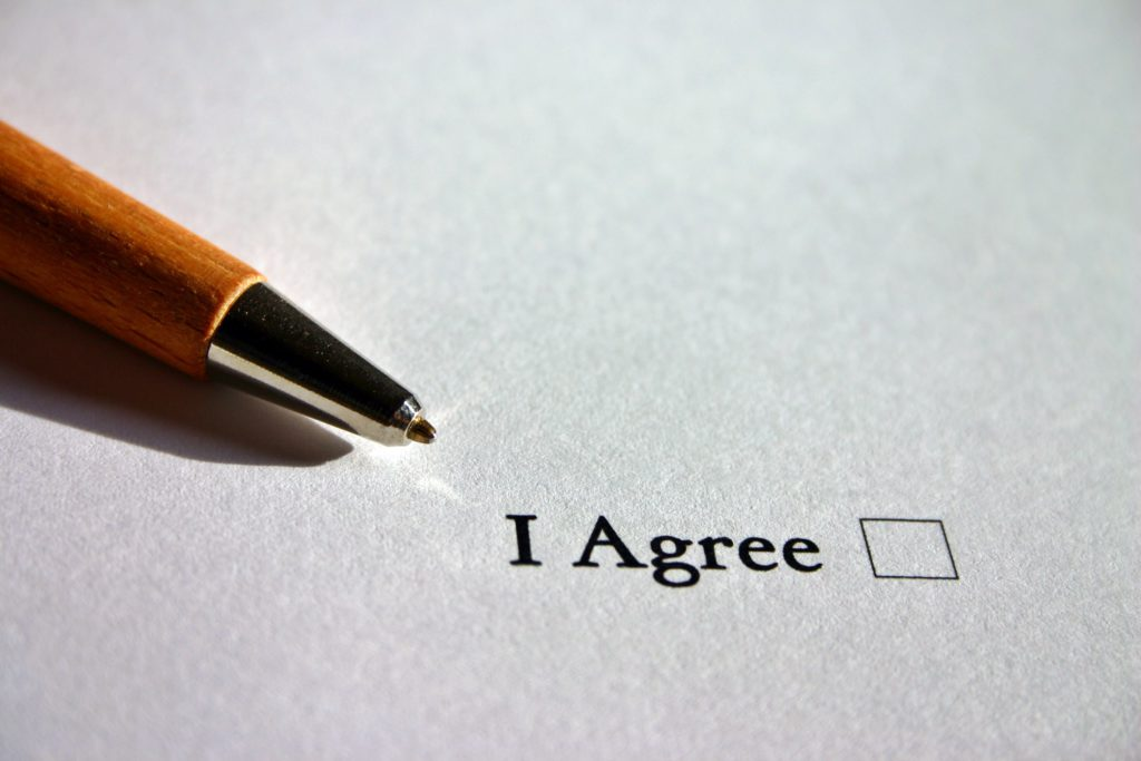 een erfovereenkomst kan alleen als alle partijen akkoord gaan