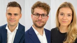 nieuwe advocaat-stagiairs bij team De Groote - De Man