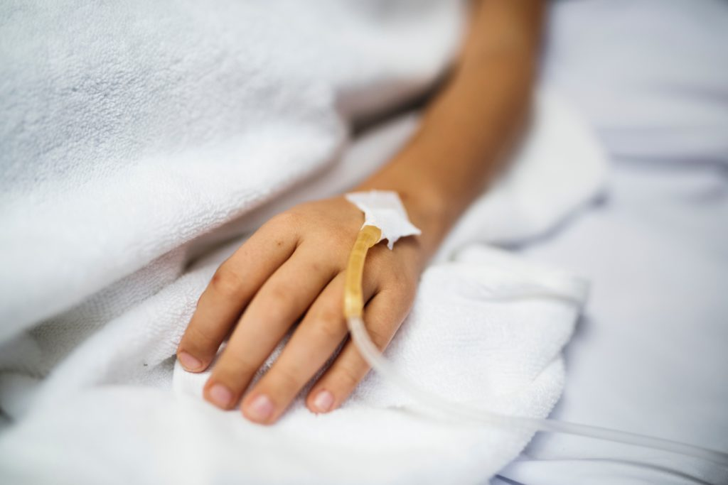 kind ziekenhuis