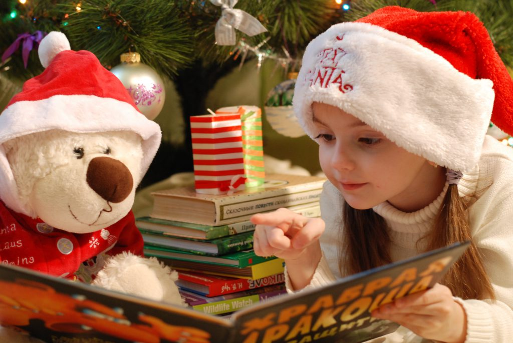 kinderen tijdens de kerstvakantie gescheiden ouders
