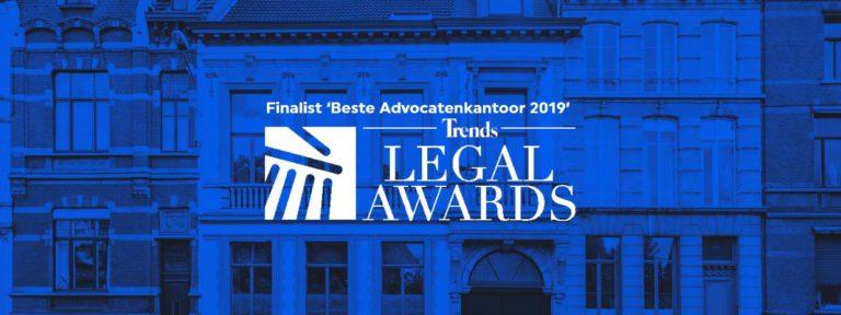 De Groote - De Man finalist Beste Advocatenkantoor Belgie