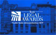 De Groote - De Man finalist Beste Advocatenkantoor 2019