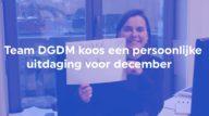 Team DGDM verlegt samen grenzen voor het goede doel
